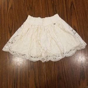Hollister Lace Mini Skirt Girl's Size XS